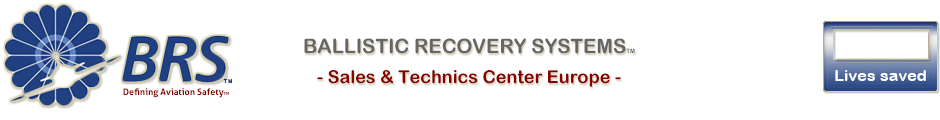BRS – Ballistic Recovery Systems – Sales & Technics Center Europe - Sales & Technics Center Europe